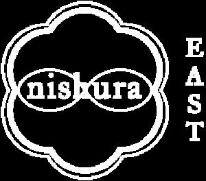 Nishura East logo white