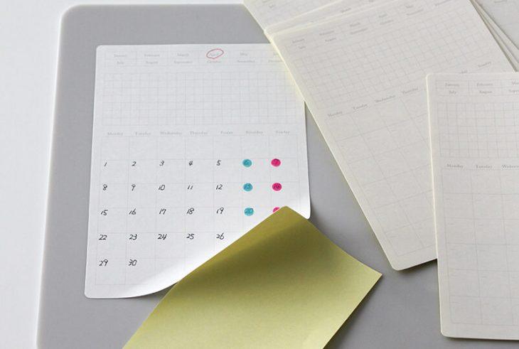 Stalogy Removable Monthly Calendar