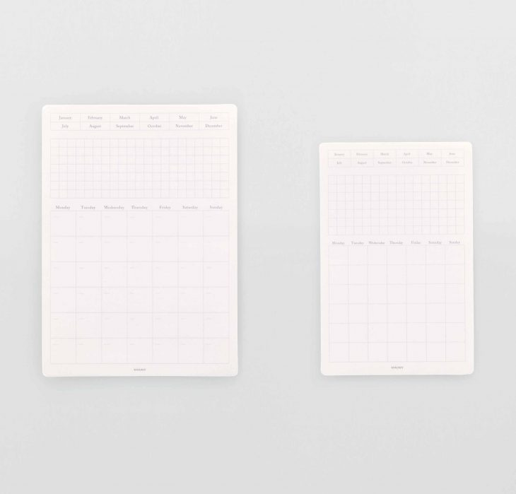 Product image of Monthly removable calendar by Stalogy