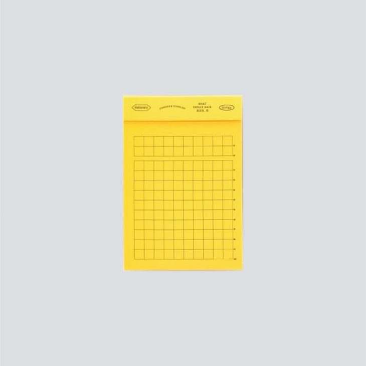 Editor's Memo Pad Gridded