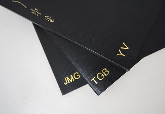 Stalogy Black Notebooks Embossed