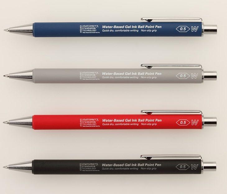 Gel Ink Ball Point pen Stalogy