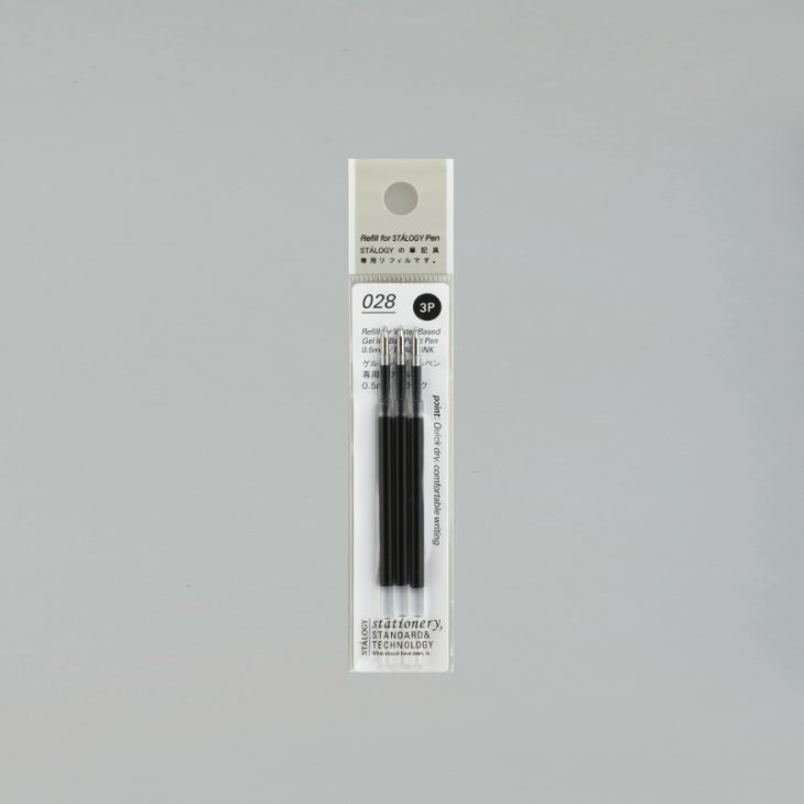 Water-Based Gel Ink Ball Point Pen Refill