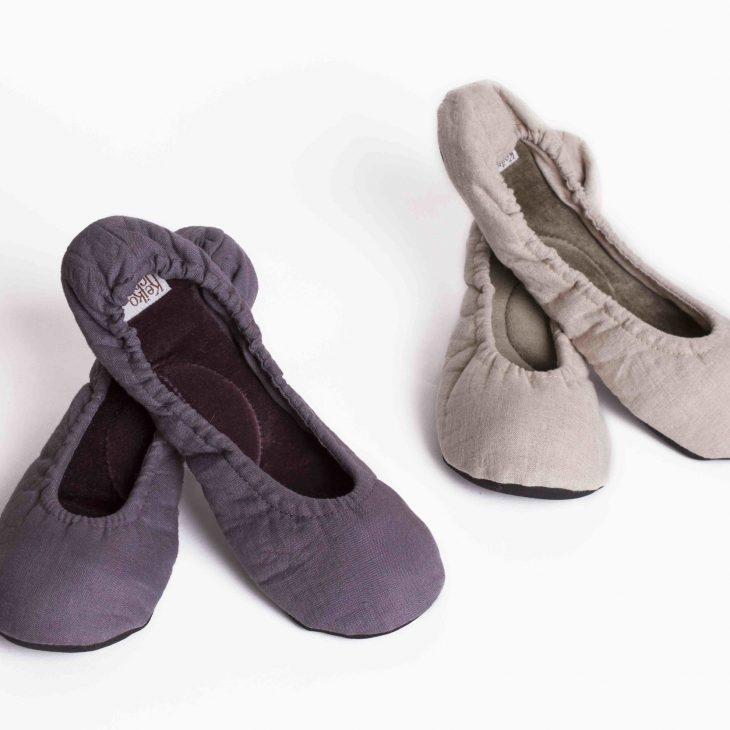 Linen Ballet Slippers