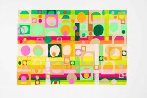 Julia Noble 'Submerge, emerge and merge' using HARU
