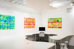 Julia Noble 'Submerge, emerge and merge' using HARU at the Nishura Studio