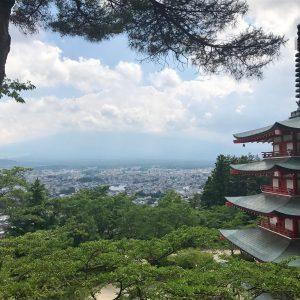 Mount Fuji from Chureito Pagoda